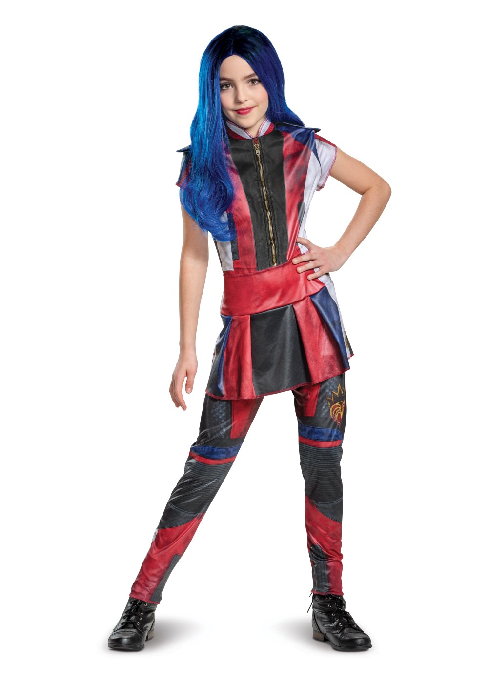 Kids Disney Evie Descendants 3 Classic Costume