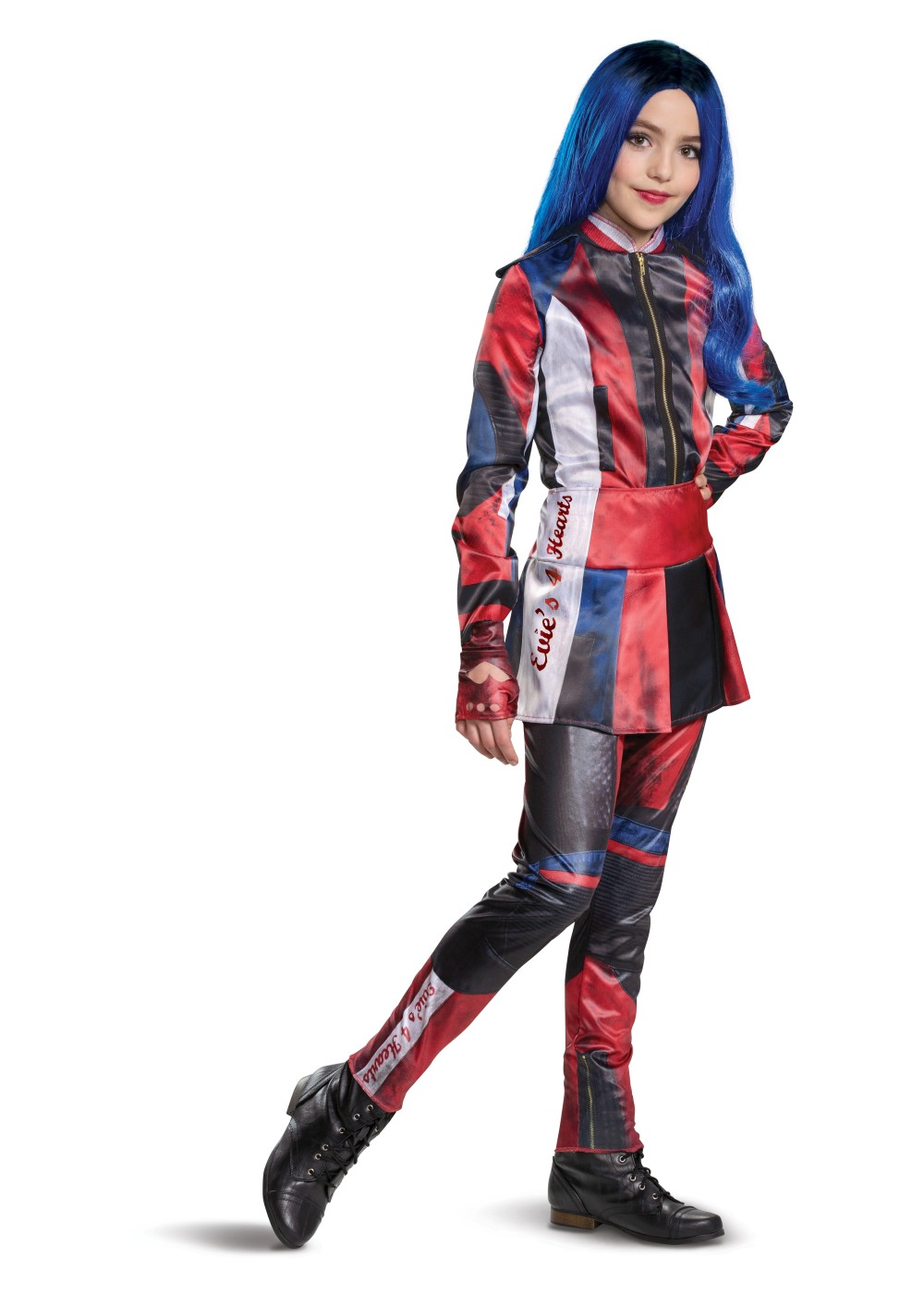 Kids Disney Evie Descendants 3 Deluxe Girl Costume