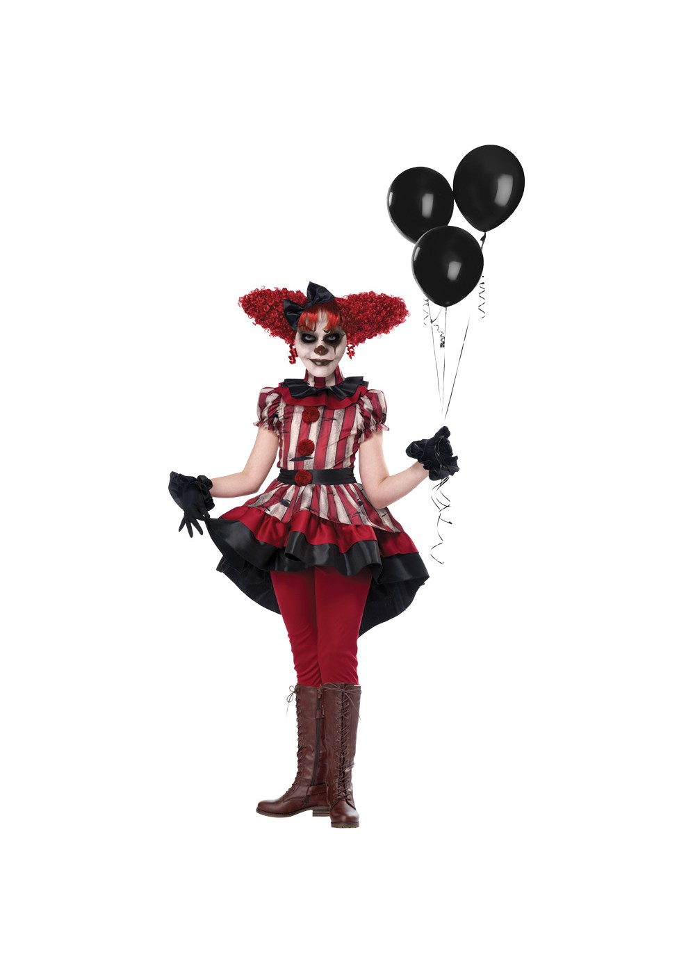 Kids Girls Wicked Klown Costume
