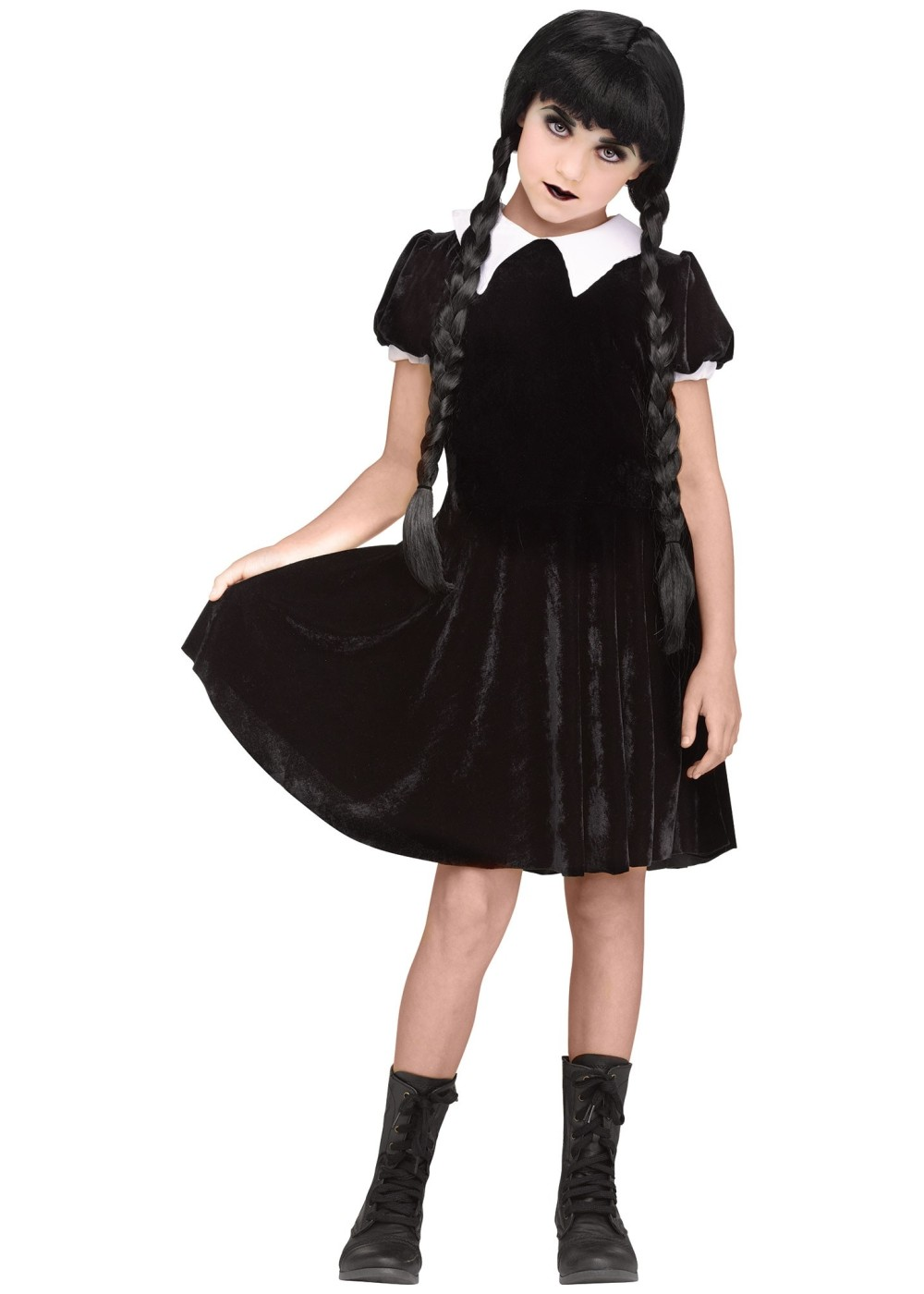 Kids Gothic Girl Costume