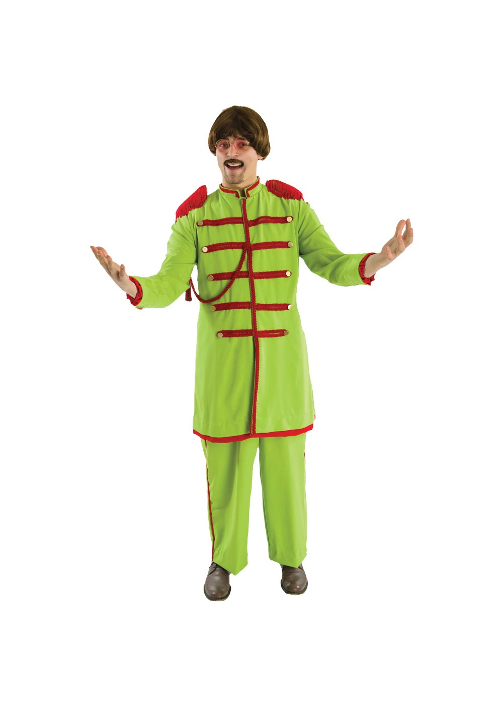 Green Lonely Hearts Club Costume
