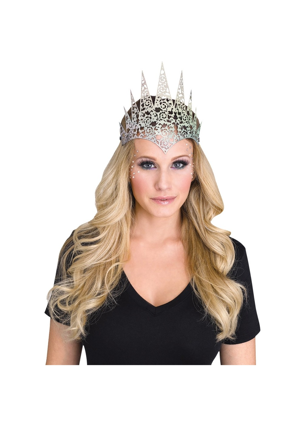 Holographic Flexible Glitter Crown