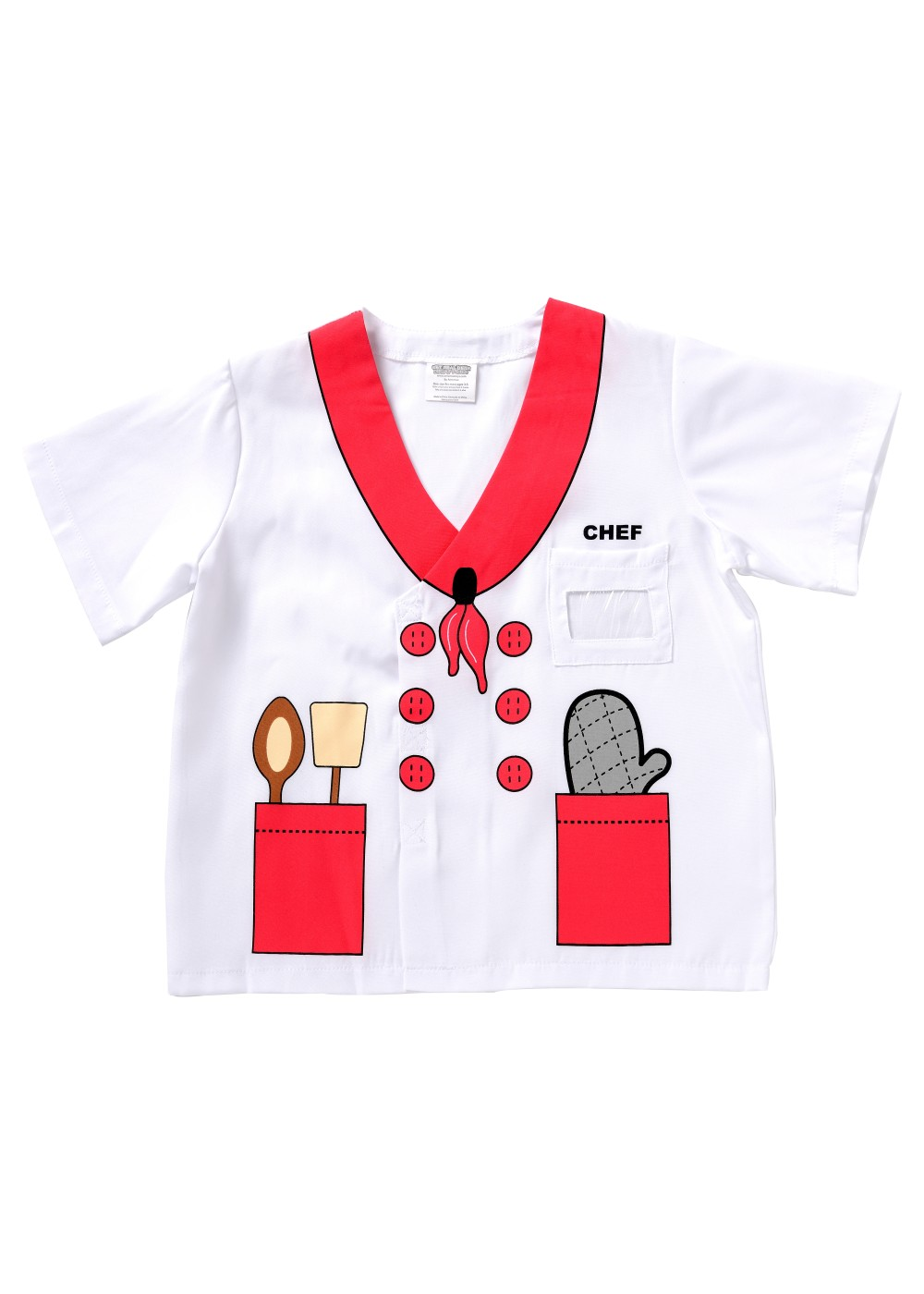 Kids Printed Chef Shirt