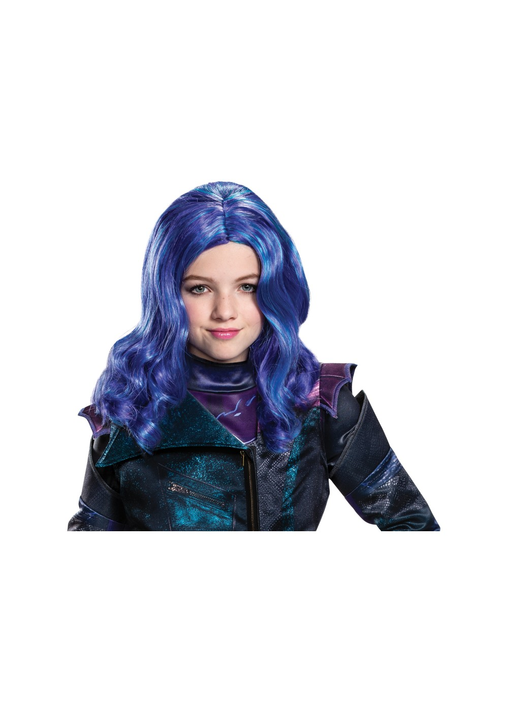 Mal Descendants 3 Girl Wig - TV Show Costumes - New for 2019