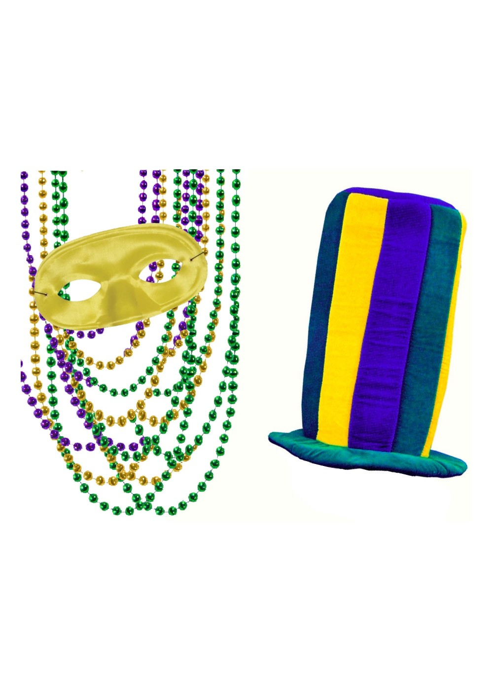 The Ultimate Mardi Gras Kit
