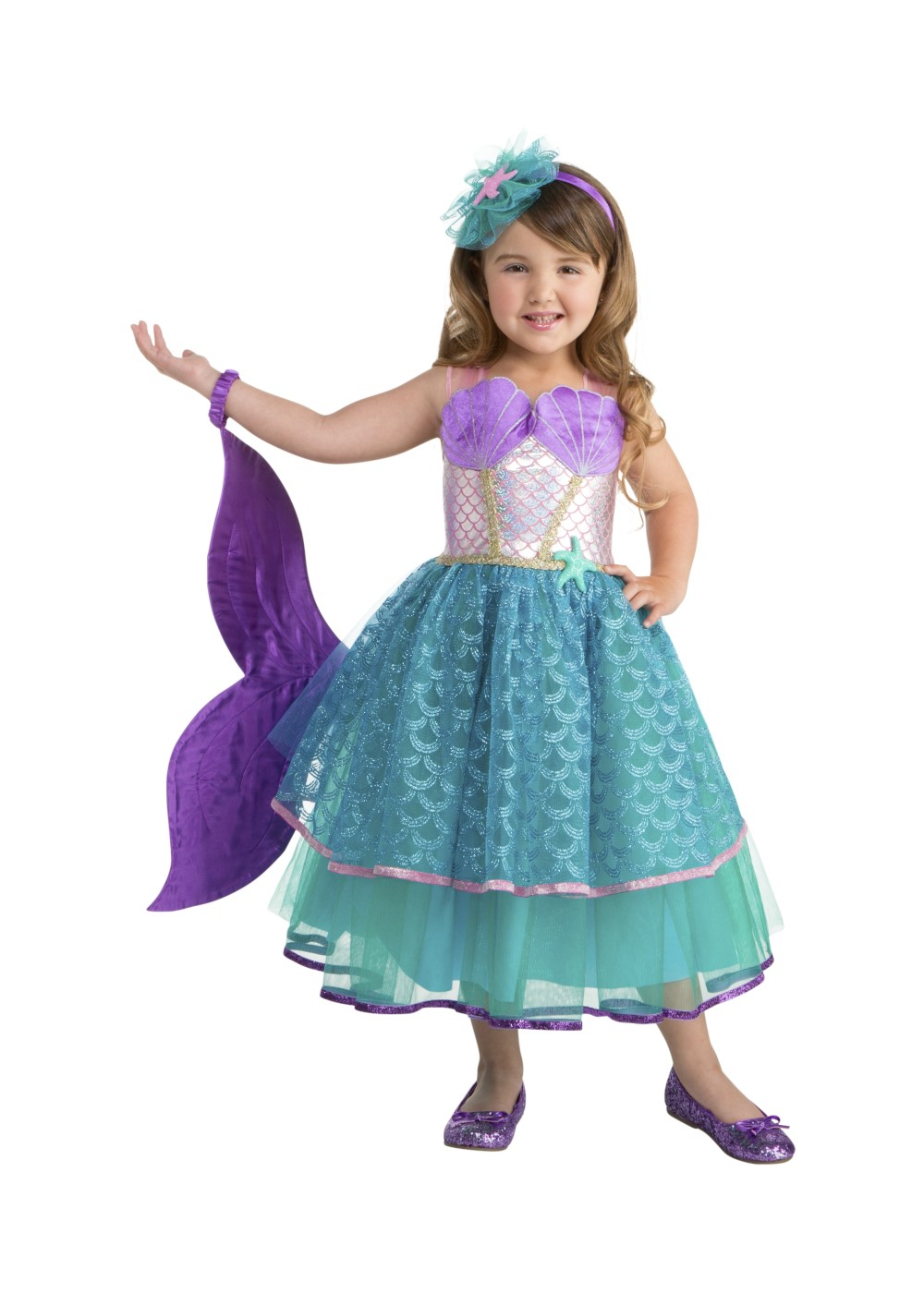 Kids Seawater Sweetie Mermaid Costume