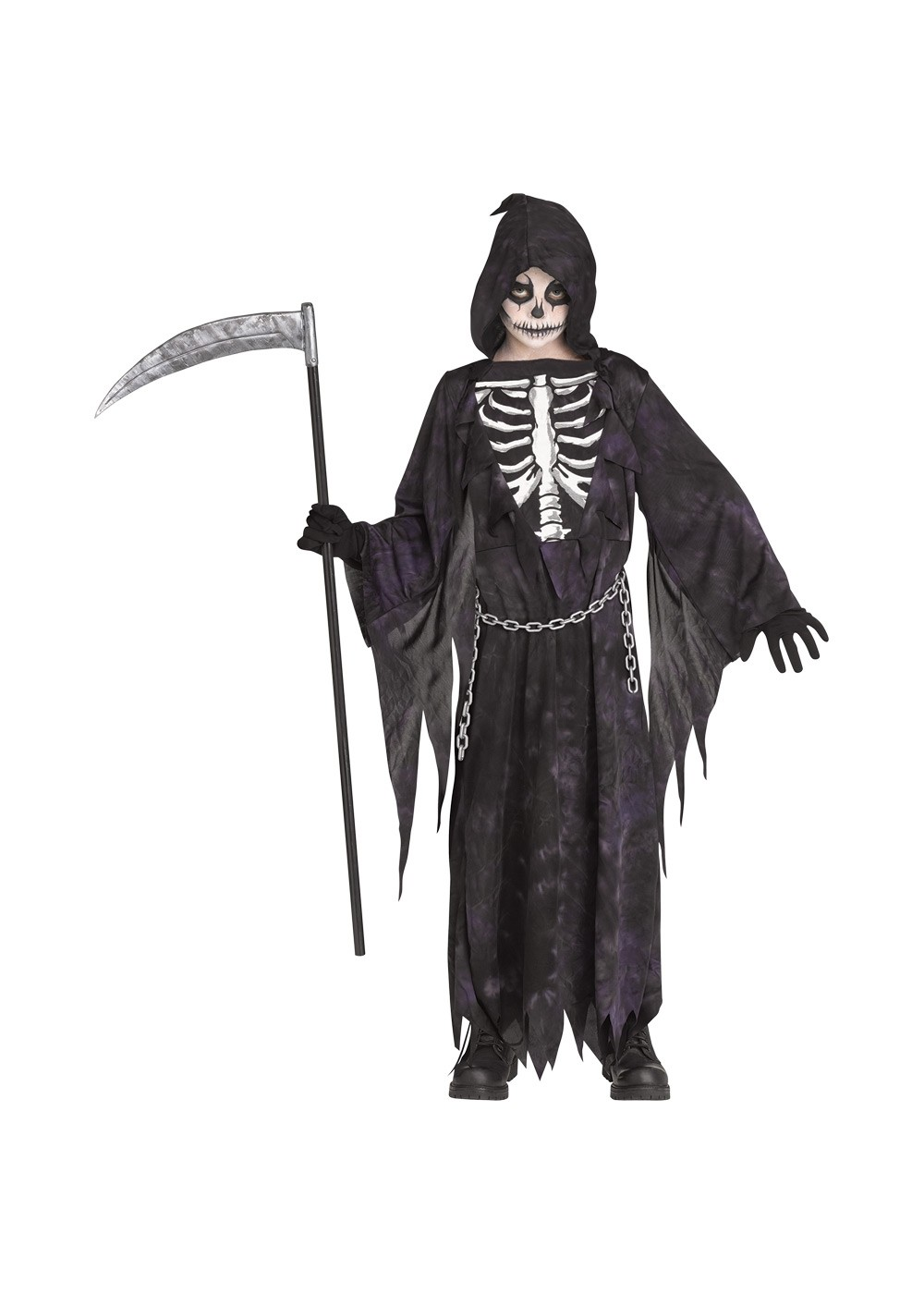 Kids Midnight Reaper Childrens Costume