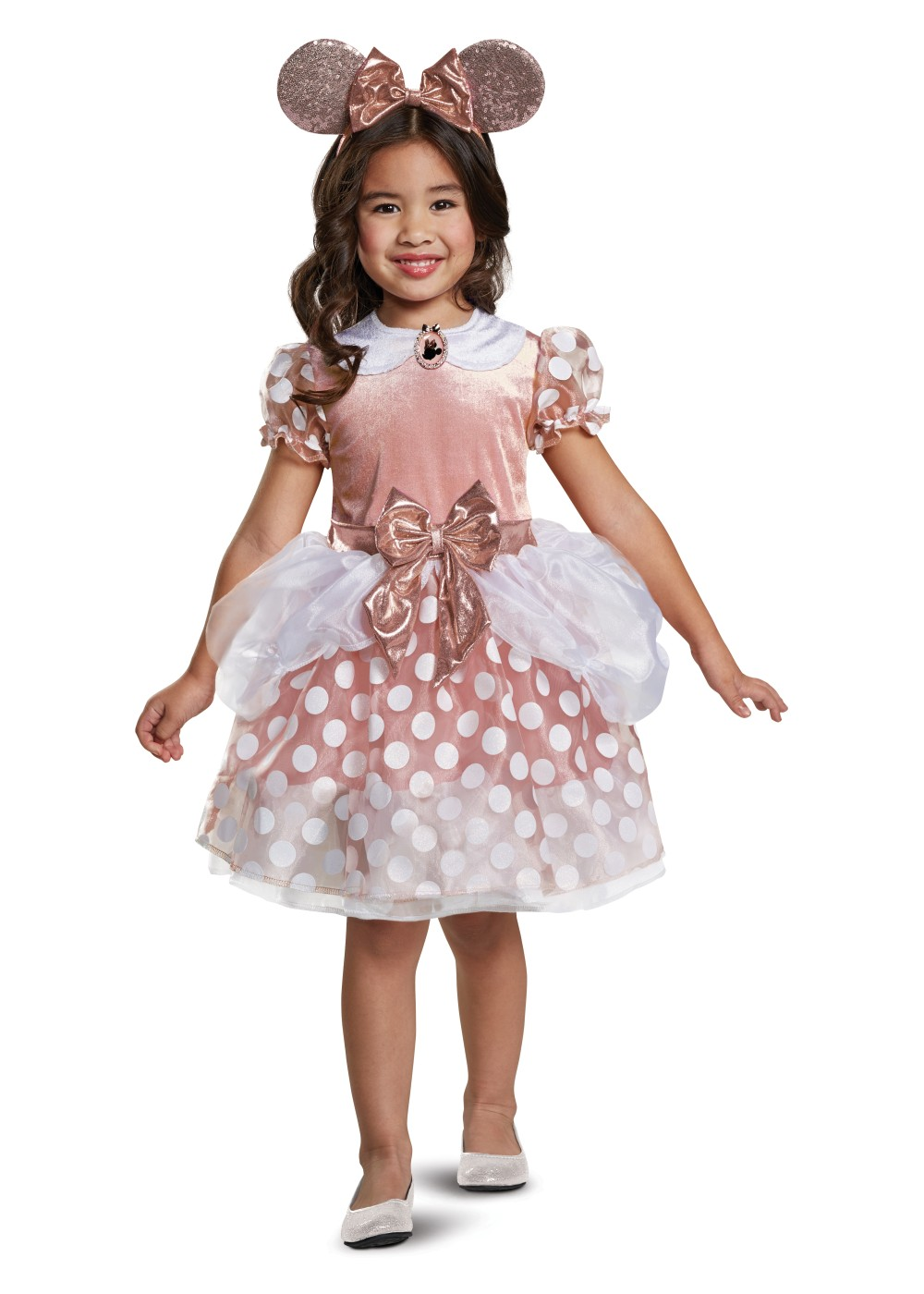 Kids Minnie Mouse Rose Gold Classic Toddler