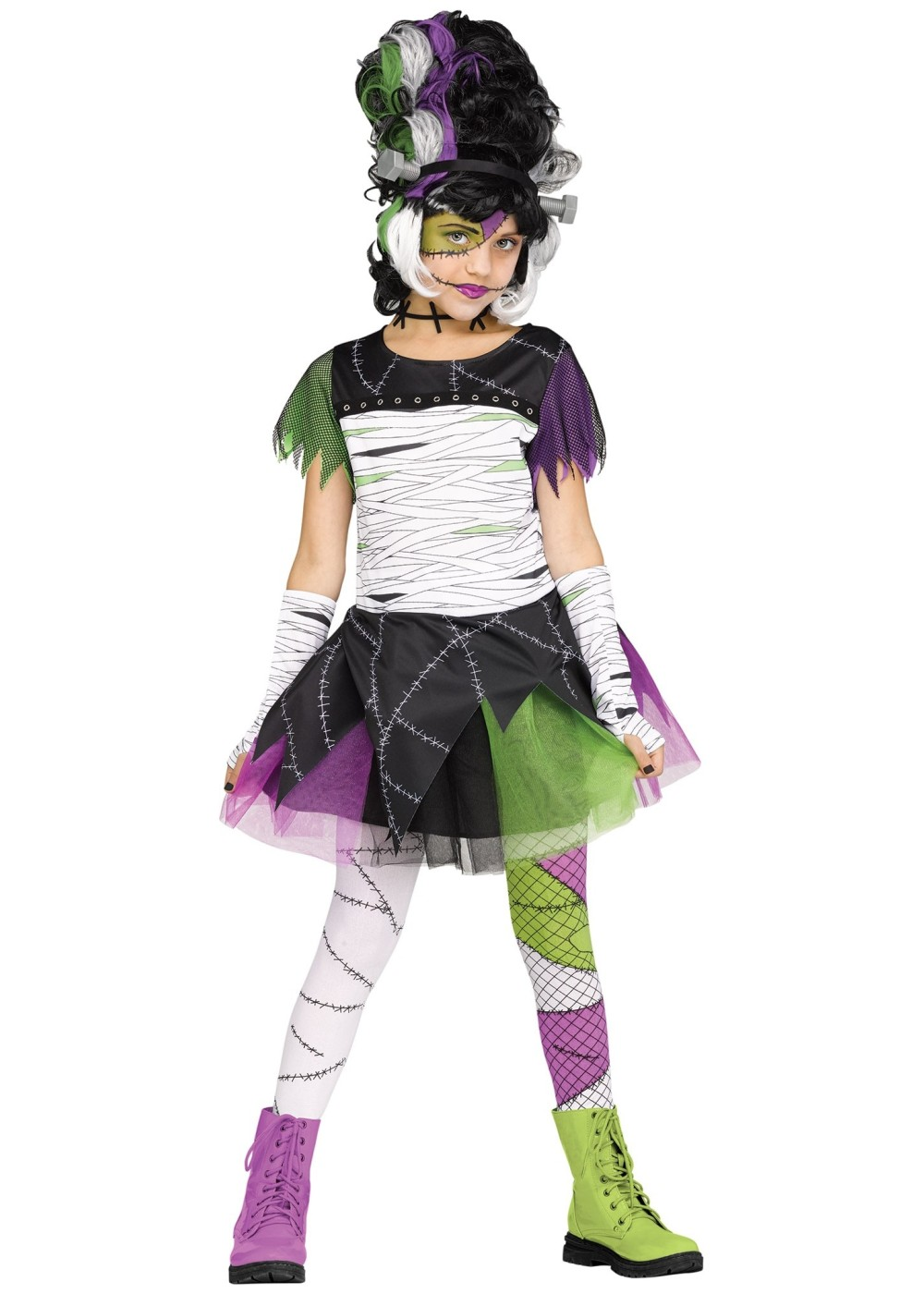 Kids Monster Bride Childrens Costume