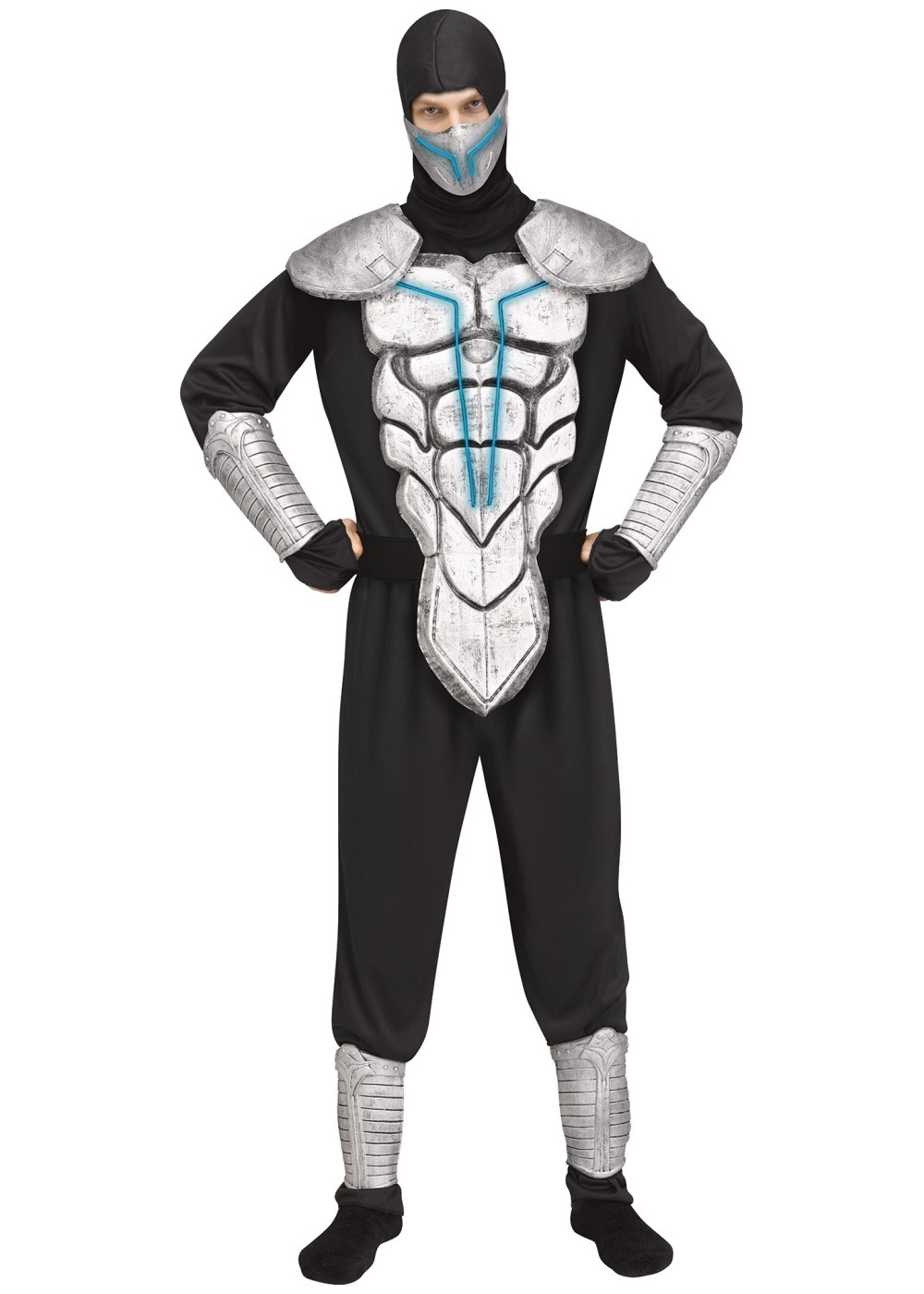 Lightning Ninja Man Costume