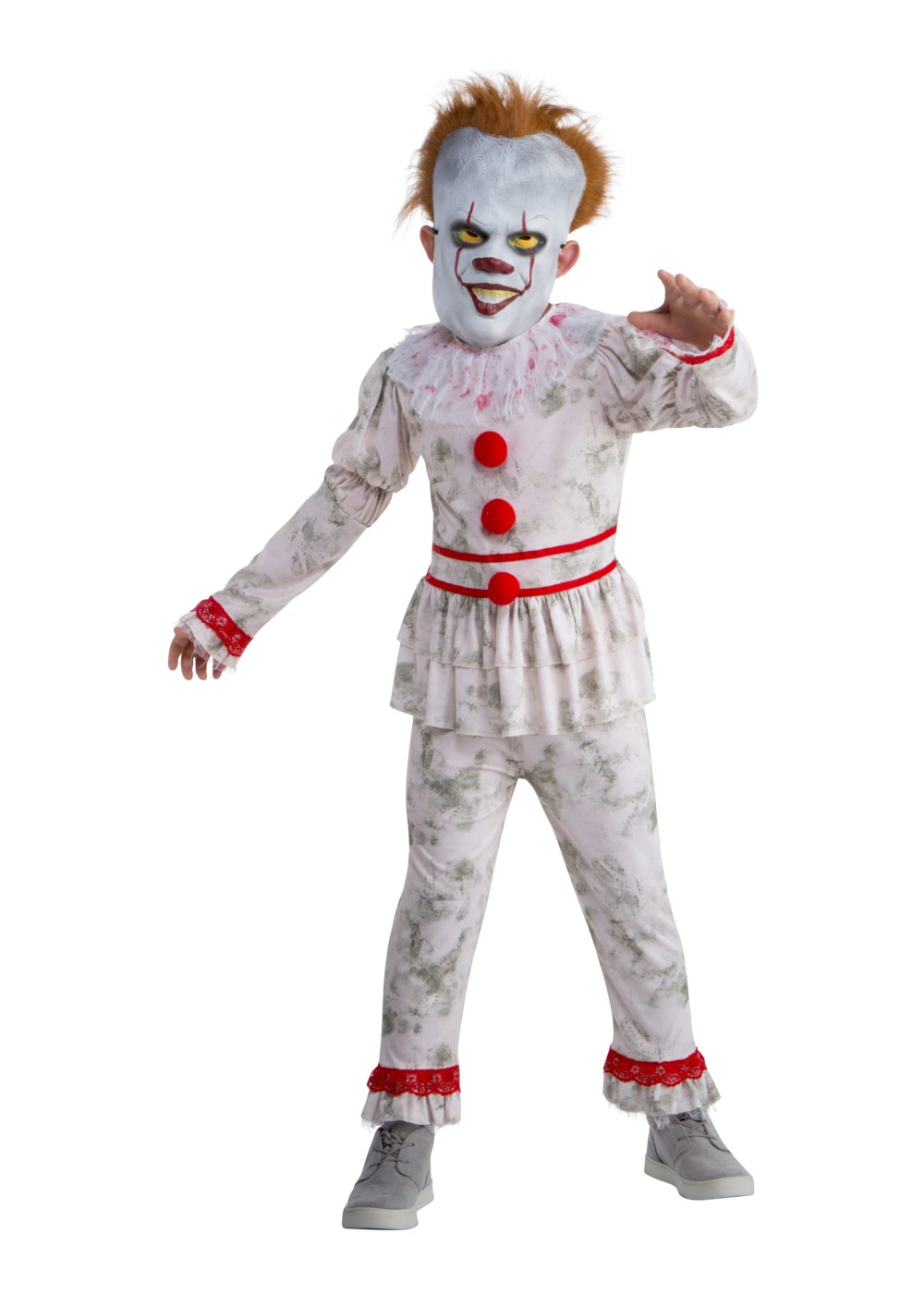 Kid\u0027s Pennywise rens Costume , Scary Costumes , New for 2019