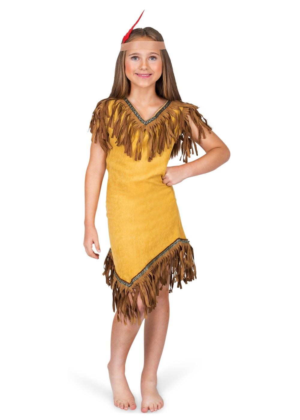 Kids Pocahontas Girls Costume
