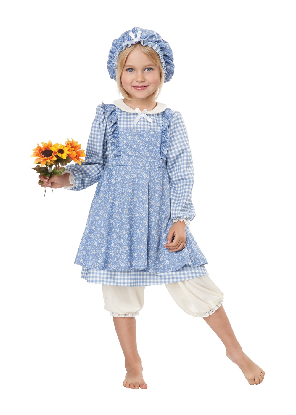 Kids Little Prairie Girl Costume
