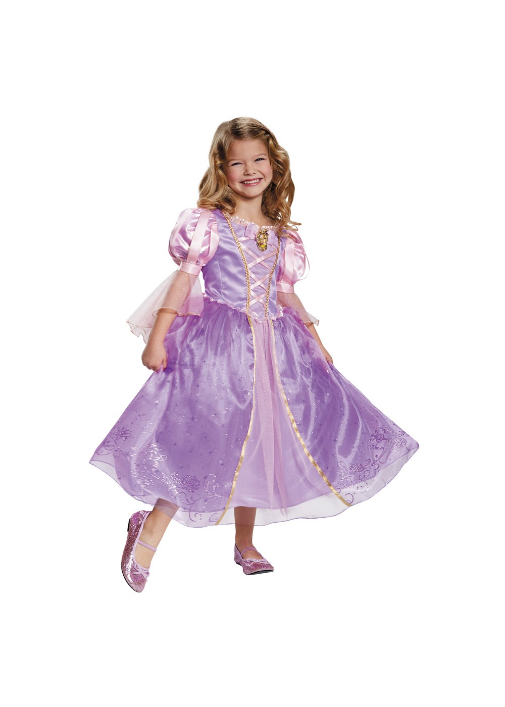 Kids Rapunzel Prestige Girls Costume