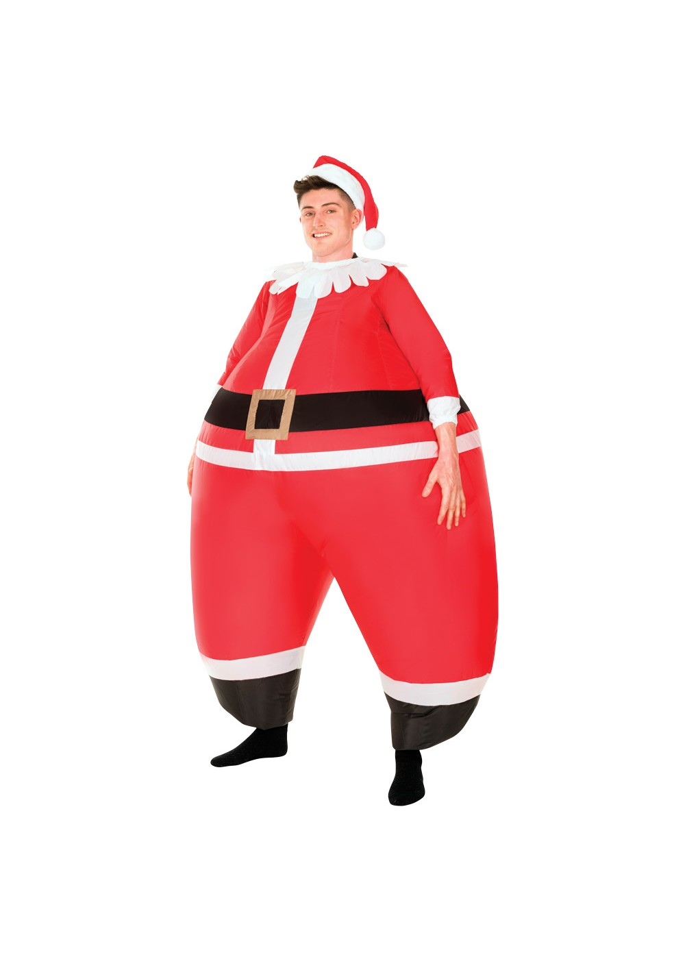 Santa Bouncer Inflatable Costume