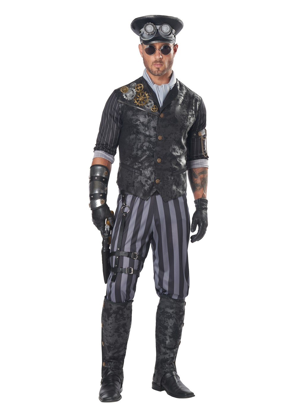 Steampunk Commander Men Costume