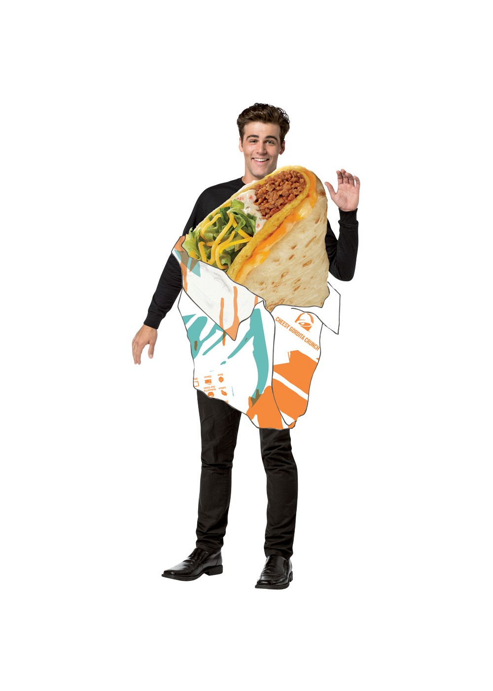 Taco Bell Crunch Costume