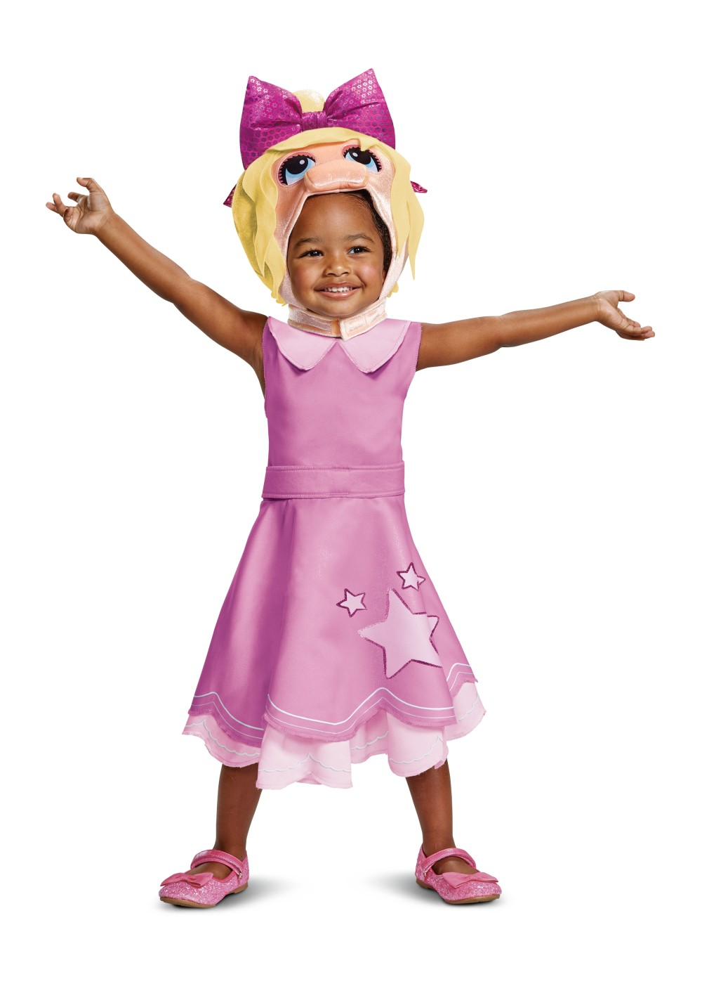 The Muppet Babies Miss Piggy Toddler Girls Costume