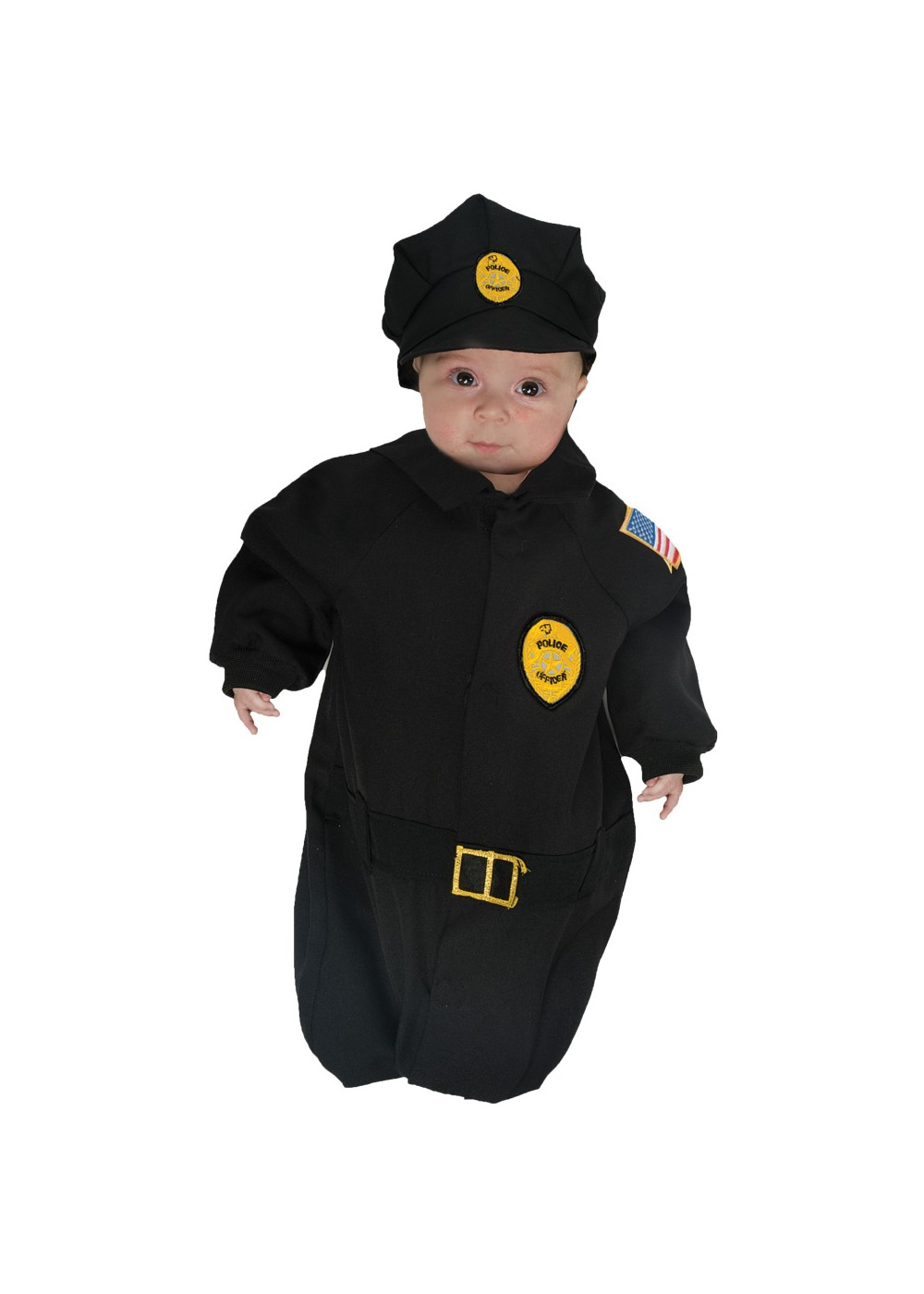 Toddler Police Bunting Costume