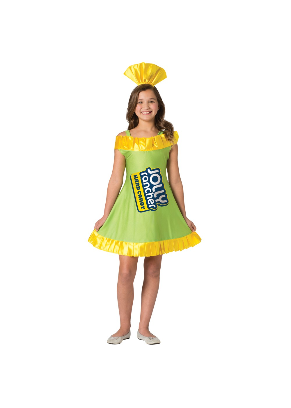 Kids Tween Jolly Rancher Apple Dress