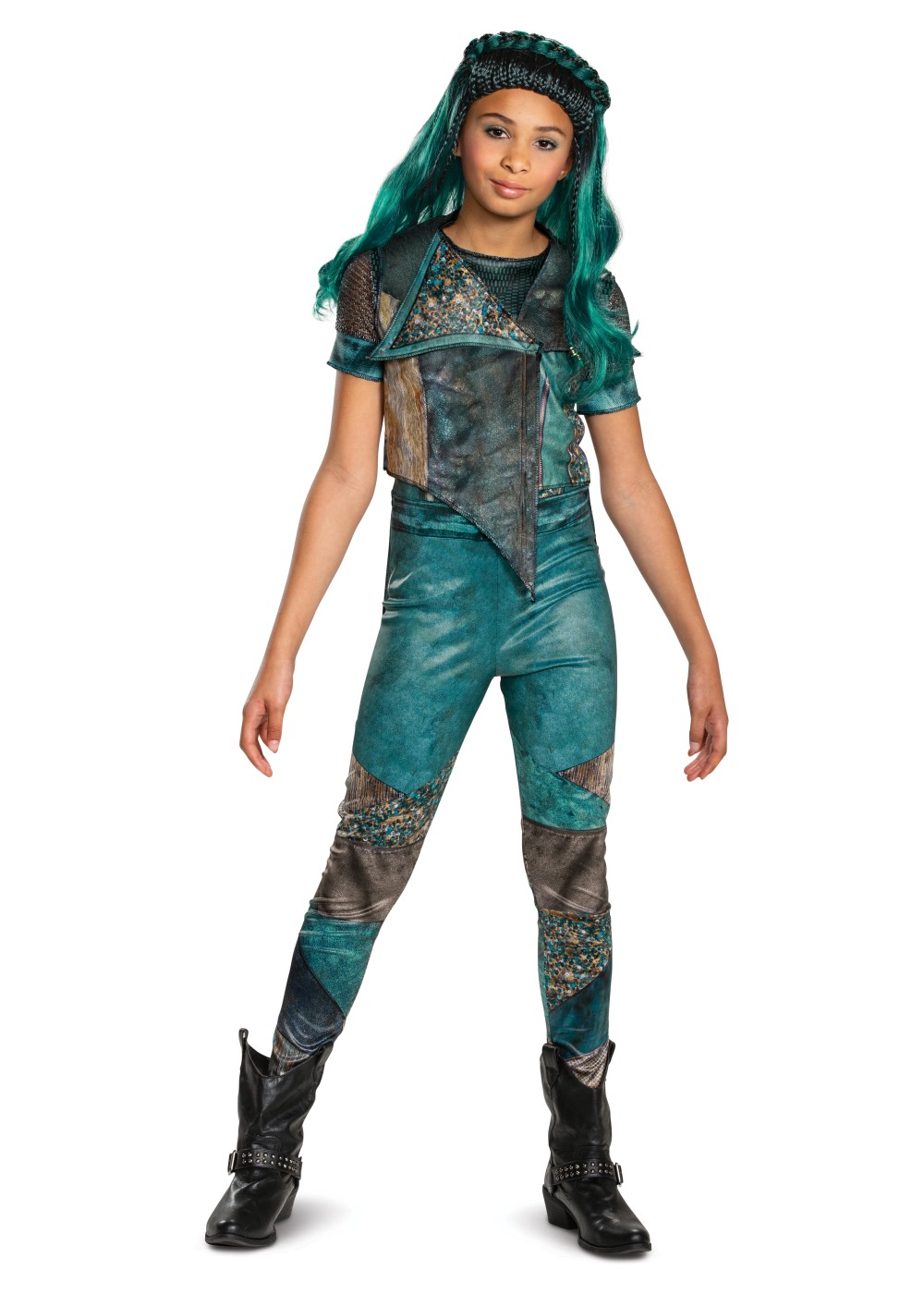 Kids Disney Uma Descendants 3 Classic Girl Costume