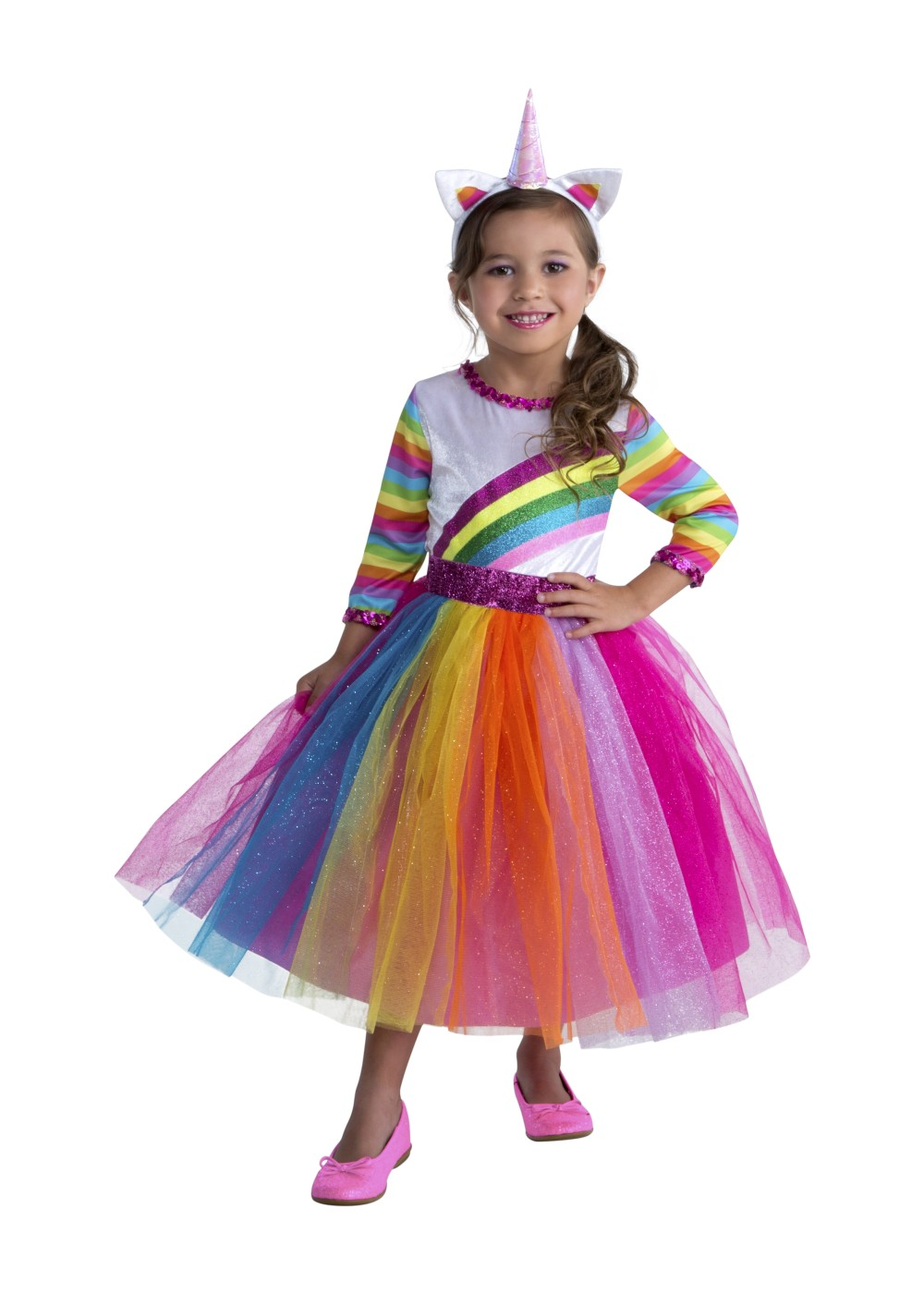 Kids Dashing Unicorn Costume