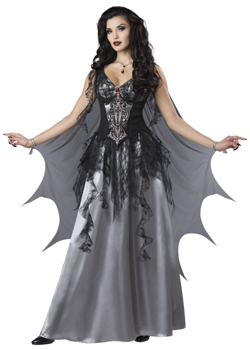 Dark Vampire Countess Women Costume