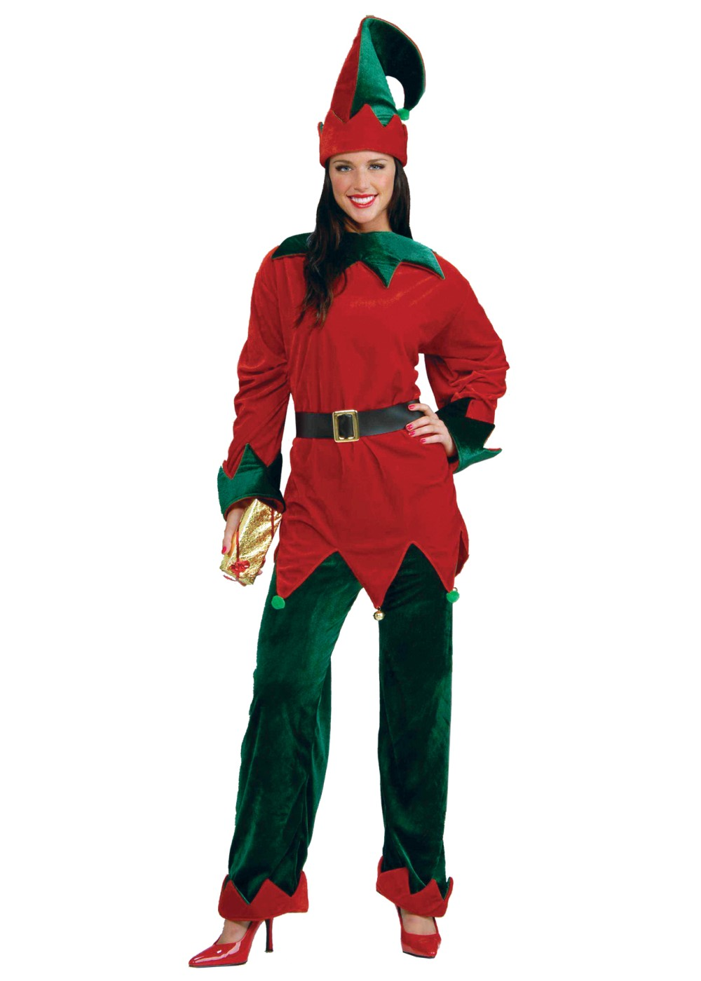 Deluxe Elf Women Costume