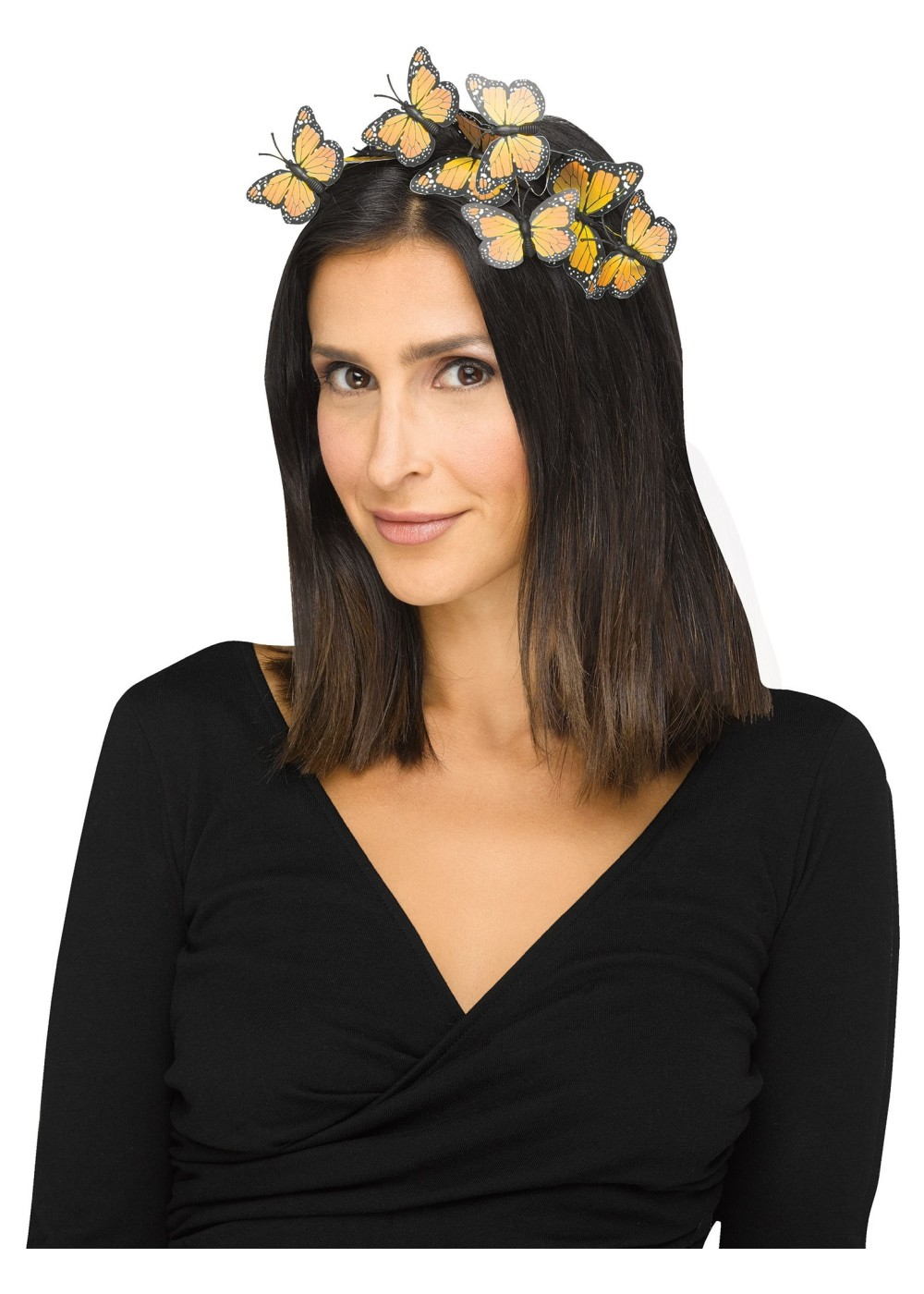 Yellow Butterfly Hairband