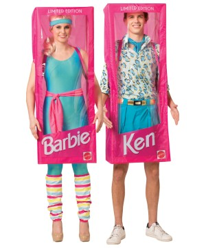 Barbie Ken Couple Costume