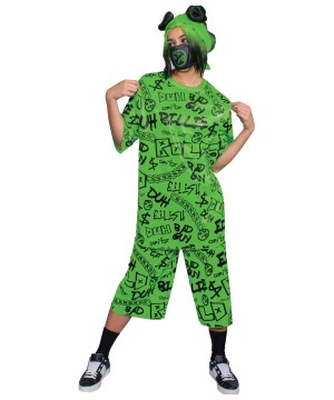Billie Eilish Junior Girls Costume