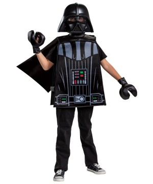 Boys Darth Vader Lego Basic Costume