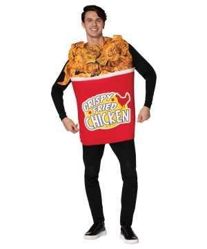 Bucket Fried Chicken Adult Costume