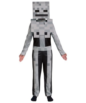 Kids Minecraft Skeleton Costume