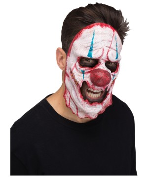 Cutter Clown Skinned Adult Mask