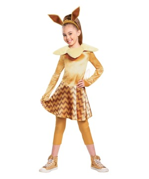 Girls Eevee Pokemon Costume