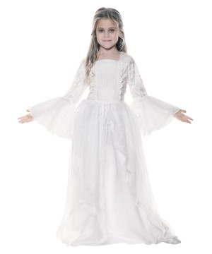 Ghostly Spirit Girls Costume Kids