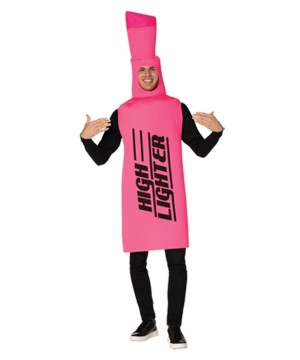 Pink Highlighter Adult Costume