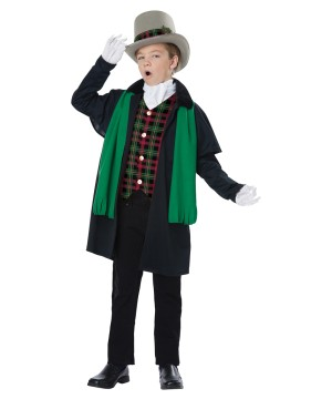 Holiday Caroler Boys Costume