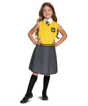 Girls Hufflepuff Harry Potter Costume