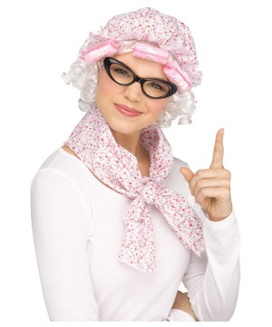 Granny Adult Costume Kit