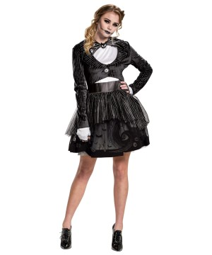 Jack Skellington Tutu Womens Costume