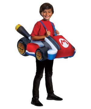 Boys Mario Kart Inflatable Costume
