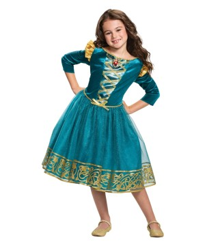 Brave Merida Girls Costume