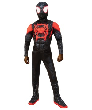 Miles Morales Spiderman Kids Costume