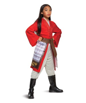 Disney Mulan Red Dress Costume