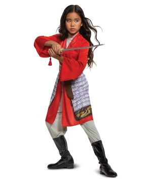 Mulan Red Dress Disney Costume