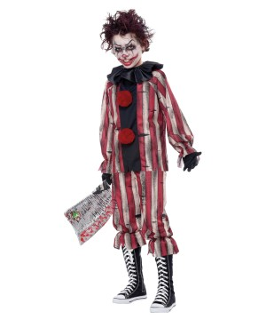 Nightmare Clown Boys Costume