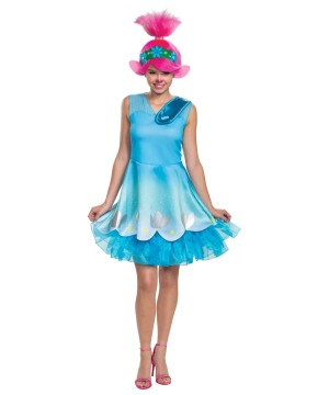 Poppy Trolls Movie Womens Costume