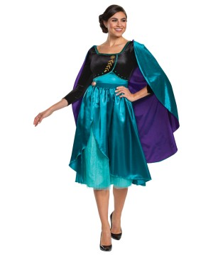 Queen Anna Dress Womens Costume